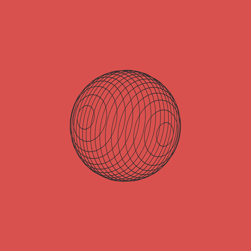 Screenshot of a sphere in CSS